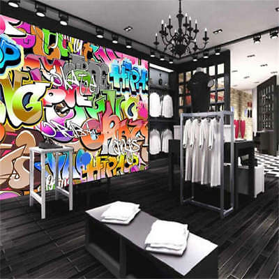 Wonderful Graffiti Full Wall Mural Photo Wallpaper Printing 3D Decor Kids Home