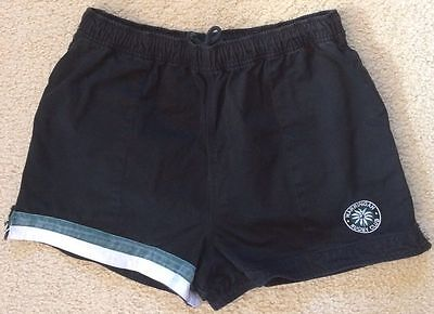 Warringah Rugby Club Shorts With Pockets - Mens Size 38 - Black Cotton