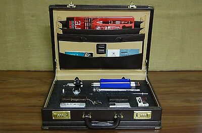 Vintage Minox Spy Cold War Camera Kit with all accessories, document copy stand,