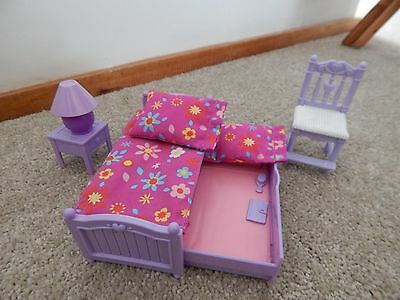 Fisher Price Loving Family Dollhouse Furniture Girls Bedroom With Bunks