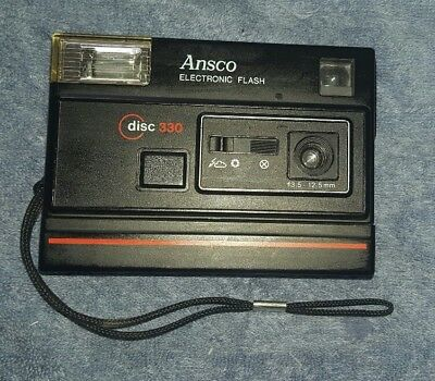 Ansco Disc 330 Camera with Electronic Flash
