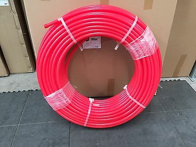 PEX-A Pipe  RED  16mm x 100Mt.Rolls in Cartons WaterMarked