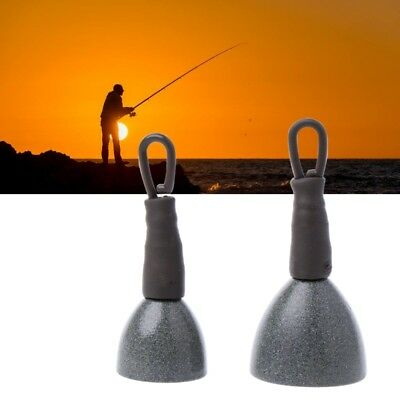 Carp Fishing Back Lead Clip Sinkers Load Depth Tester Lead Weights Tools 15g 30g