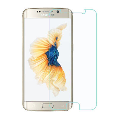 For Samsung Galaxy S6 Edge Plus Clear Tempered Glass Screen Cover (Not Curved)