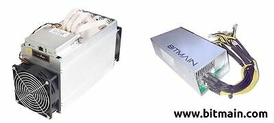 Bitmain ANTMINER D3 15GH/s DASHCOIN X11 MINER W/ Power Supply Nov 16