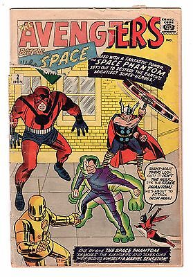 Avengers #2 (November 1963) Marvel Comics Key Issue Low Grade FREE SHIPPING