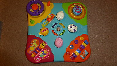 Bruin Musical Activity Table