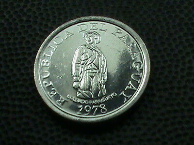 PARAGUAY    1  Guaranie     1978    BRILLIANT  UNCIRCULATED