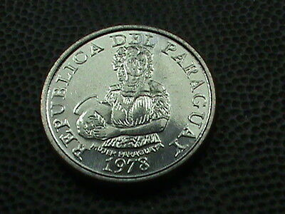 PARAGUAY    5  Guaranies     1978    BRILLIANT  UNCIRCULATED