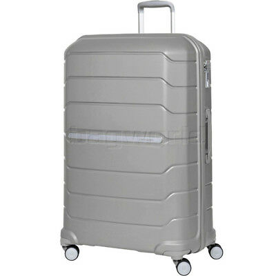 Samsonite Octolite Extra Large 81cm Hardside Suitcase Metallic Silver 78793