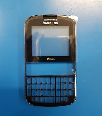 Genuine Samsung GT-E2222 Chat Black Case-Front Cover GH98-20045A