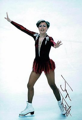 Jayne Torvill SIGNED Autograph 12x8 Photo AFTAL COA Ice Dancer Olympic Medalist