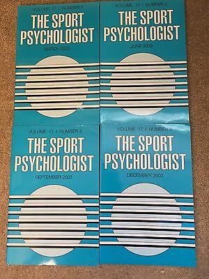 The Sport Psychologist Journal 2003