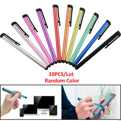 10x Stylus Touch Pen Metall Touchpen Eingabestift Für iPhone iPad Samsung Handy