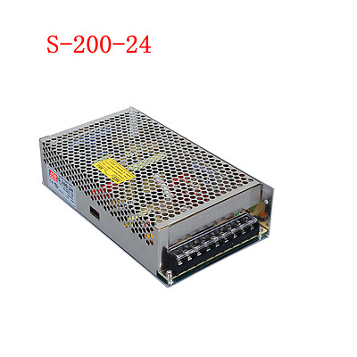1pc S-200-24 DC24V 8.3A 200W Switching Power Supply For LED Light