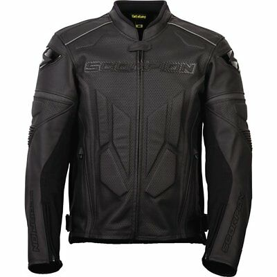 Scorpion EXO Clutch Phantom Vented Leather Jacket Motorcycle Jacket