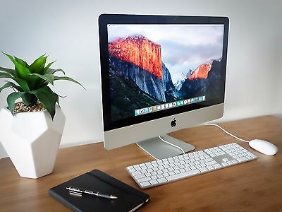 """Apple iMac 21.5"""" Slim - All in One Desktop Computer with Microsoft Office"""