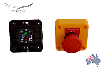 Emergency Stop switch control electrical e-stop e - stop !