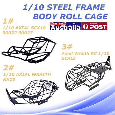3 Kinds Black RC 1/10 Steel Frame Body Roll Cage for Wraith RR10 SCX10 Axial
