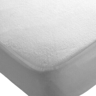 4x Cot Bed 140 x 70 cm Waterproof Mattress Protector Fitted Sheets