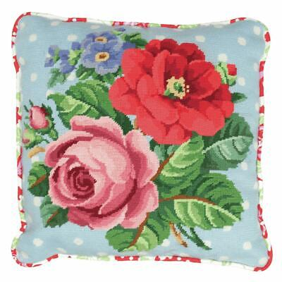 Berlin Roses - Anchor Tapestry Cushion Front Kit - 40cm x 40cm - ALR42