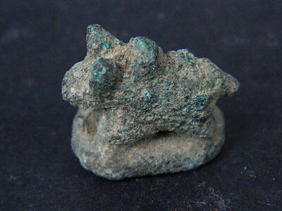 "Ancient Roman Bronze Bull C.200 Bc No Reserve Price  """"k689"""""