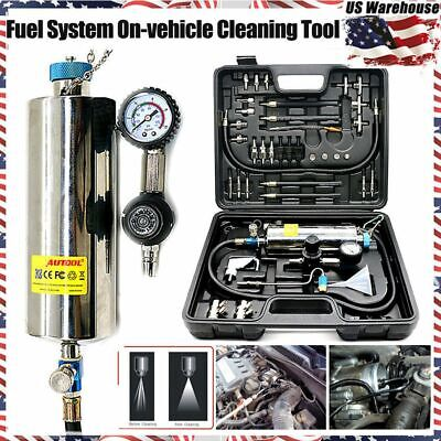 AUTOOL Non-Dismantle Injector Cleaner&Tester Fuel System For Petrol Car