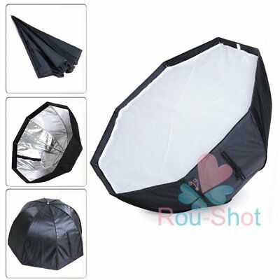 80cm/32in Octagon Softbox Selens umbrella Reflector For SpeedLight/Flash【AU】