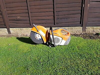 Nearly new stihl saw ts410 petrol disc cutter
