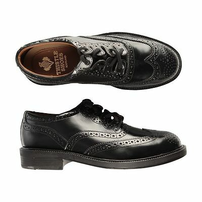 New Luxury Boys Leather Ghillie Brogues SCOTTISH KILT SHOES  SALE Size 2.5 UK