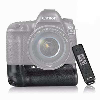 Battery Hand Grip for Canon EOS 5D Mark IV Camera + Remote Control /LP-E6 BG-E20