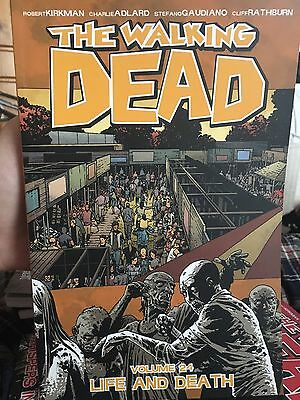 Walking Dead Graphic Novel. Vol 24- Life And Death. Excellent Condition