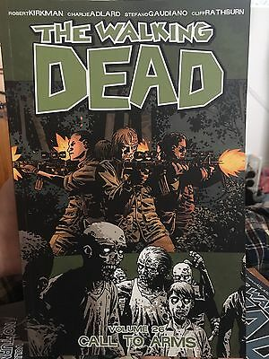 Walking Dead Graphic Novel. Vol 26- Call To Arms. Excellent Condition