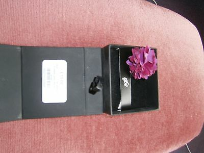 Carvet Flower Tie Pin/Fabric Material/Boxed
