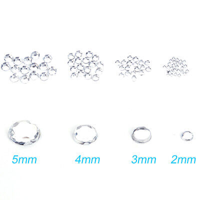 1000 Strass ongle gel autocollant nail diy manucure scrapbooking 2/3/4/5mm