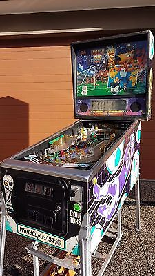 World Cup Soccer 94 Pinball Machine by Bally Williams