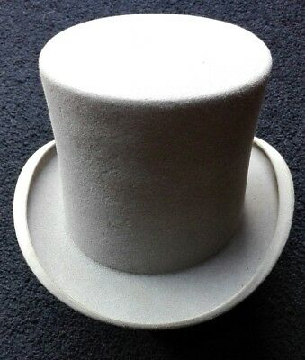 vintage grey Top Hat outside rim measures 22 inches Tress and Co label