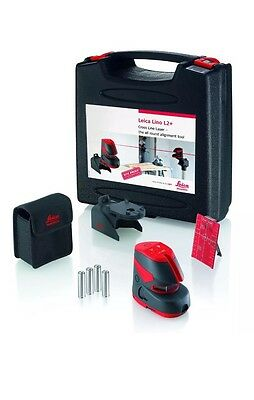 LEICA Lino L 2 Plus Self Levelling Cross Line Laser Level FREE DELIVERY !!!