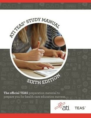 ATI TEAS Review Manual: Sixth Edition Revised - Book, Practice, Study Guide