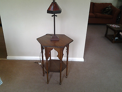 Libertys moorish oak table