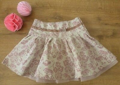 Sergent Major***Jupe/skirt 23 mois Rose doublée Tulle