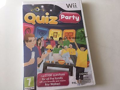 Quiz Party for Nintendo Wii, 2012 Game - New & Sealed