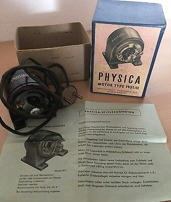 Physica Motor Type 1951/II - Spielzeugmotor in Orginalverpackung