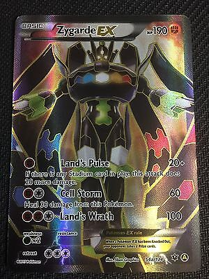 Zygarde EX Full Art Fates Collide 54a/124 NEAR MINT Pokemon TCG Card