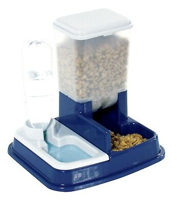 2 in 1 Futter- & Wasserspender Hund / Katze - Food & Water Dispenser