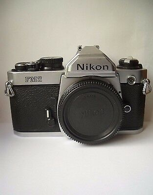 Nikon Fm2 35 Mm Slr Camera Body.