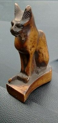 Ancient Egyptian Figure Of A Cat - Extremely Rare - L@@k