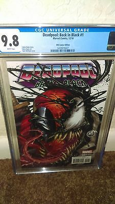CGC 9.8 Deadpool back in black #1 KRS variant color