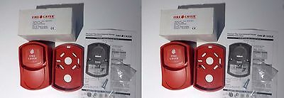 FIRE CRYER PLUS VOICE SOUNDER FIRE ALARM SYSTEM NEW x2