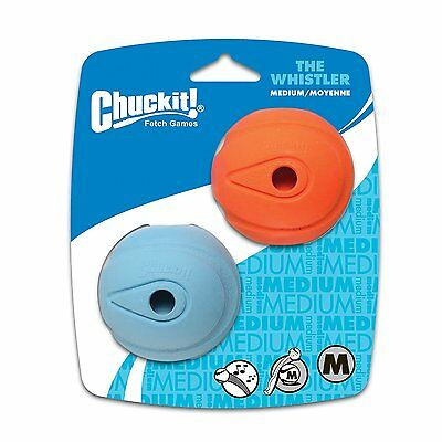 Chuckit Whistler Balls Medium 2 Pack